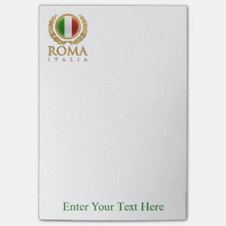 Kundengebundene italienische Flagge Post-it Haftnotiz