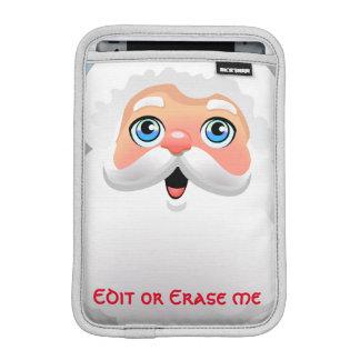 Kundengebundener Weihnachtsmann-Cartoon Sleeve Für iPad Mini