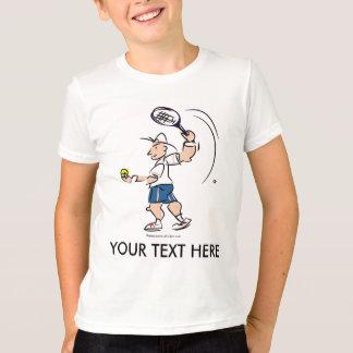 Kundengebundenes Kindertennist-shirt mit Cartoon T-Shirt