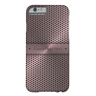 Kundengebundenes rosa metallisches barely there iPhone 6 hülle