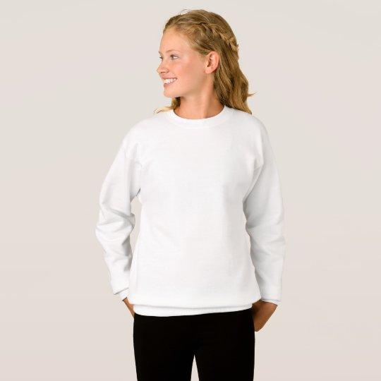 Mädchen Hanes ComfortBlend® Sweatshirt