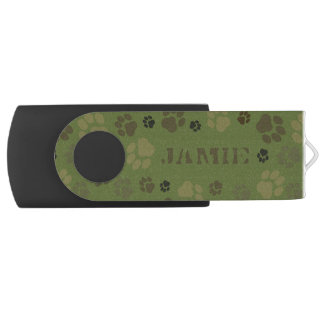 Kundengerecht, Tatzen-Druck-Tarnung USB-Antrieb USB Stick
