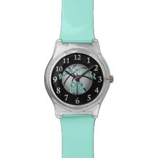 Kundengerechte Basketball-Uhr, Ihre Zahl, Farben Uhr