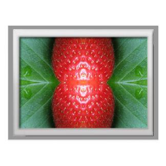 Kundengerechte Postkarte (Erdbeere frisch)