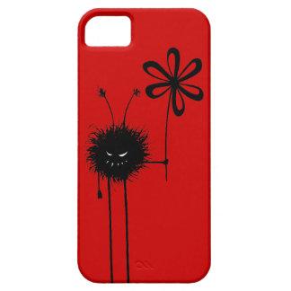Kundengerechte rote schlechte Blumen-Wanze iPhone 5 Etuis