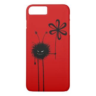 Kundengerechte rote schlechte Blumen-Wanze iPhone 7 Plus Hülle