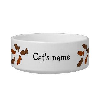 Kundengerechte Slogan-Katzen-Keks-Leckereien Katzenfutter-Napf