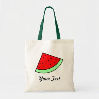 Kundengerechte Wassermelone-Tasche (LICHT) Budget Stoffbeutel