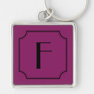 Kundengerechter Buchstabe-Quadrat-Schnitt bringt Schlüsselanhänger