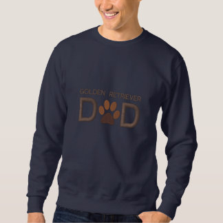 Kundengerechter Hundezucht-golden retriever-Vati Bestickte Pullis