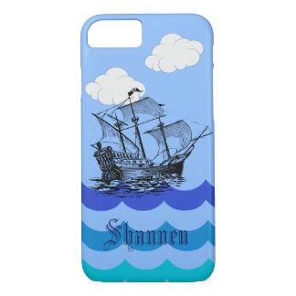 Kundengerechter Seepiraten-Schiff iPhone Fall iPhone 8/7 Hülle
