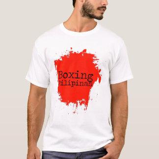 Kundengerechtes boxendes Pilipinas T-Shirt