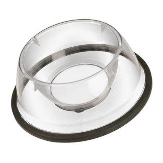 Kundenspezifische Acrylhaustier-Schüssel - klein Futternapf