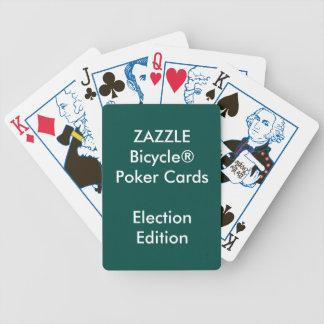 Kundenspezifische Bicycle® Poker-Spielkarten WAHL Bicycle Spielkarten