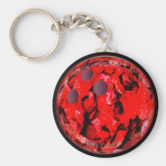Kundenspezifische Bowling Keychains Geschenke Standard Runder Schlüsselanhänger
