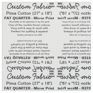 Kundenspezifische Druck Pima Baumwolle, Stoff