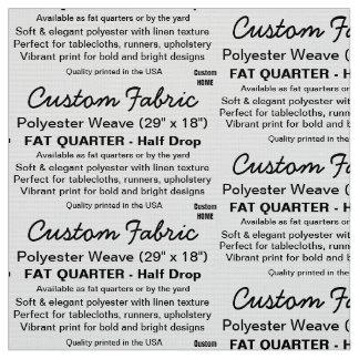 Kundenspezifische Druck-Polyester-Webart, Stoff