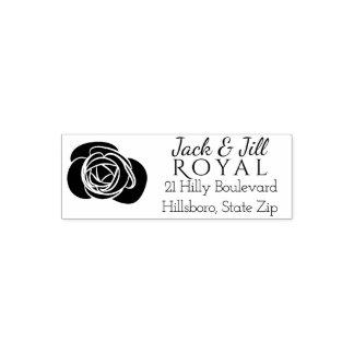 Kundenspezifische elegante Rose der Permastempel