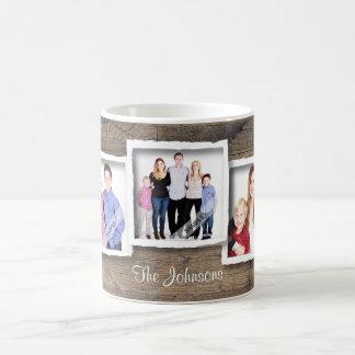 Kundenspezifische Foto-Collagen-Familie, Kaffeetasse