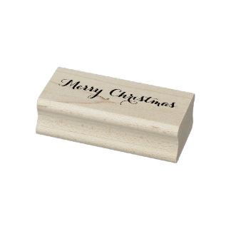 Kundenspezifische frohe Weihnacht-Feiertags-Grüße Gummistempel