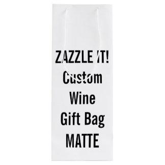 Kundenspezifische Geschenktüte Für Weinflaschen