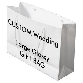 Kundenspezifische GLATTE Geschenk-Tasche GROSSES Große Geschenktüte