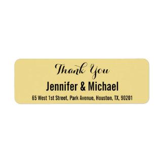 Kundenspezifische Hochzeit danken Ihnen