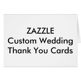Kundenspezifische Hochzeit danken Ihnen kardiert Karte