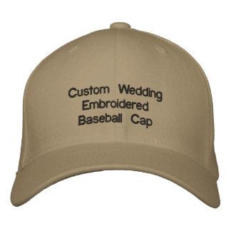 Kundenspezifische Hochzeit gestickte Baseballmütze