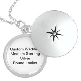 Kundenspezifische Hochzeits-mittlerer Medaillon
