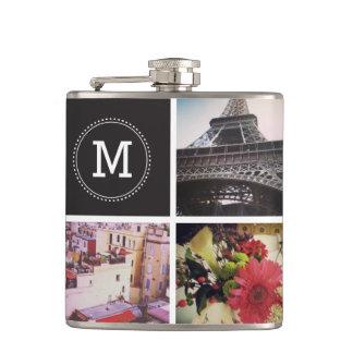 Kundenspezifische Instagram 7 Foto-Flasche