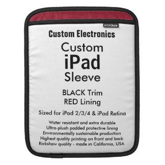 Kundenspezifische iPad Hülse - Vertikale Sleeves Für iPads