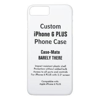 Kundenspezifische iPhone 6 PLUSkaum dort iPhone 8 Plus/7 Plus Hülle