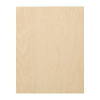 Kundenspezifische Leinwand des Holz-11x14 Holzdruck