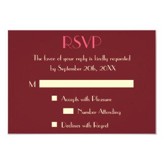 Kundenspezifische moderne elegante Hochzeit UAWG Karte
