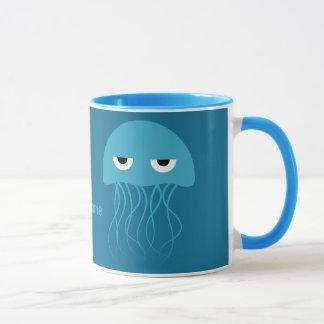 Kundenspezifische Monogramm-Tassen der lustigen Tasse