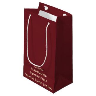 Kundenspezifische personalisierte Gastgeschenk Kleine Geschenktüte