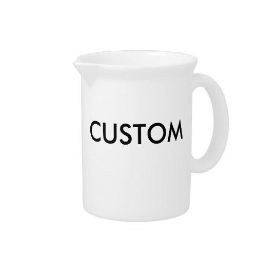 Kundenspezifische personalisierte getränke pitcher