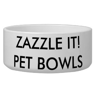 Kundenspezifische personalisierte Hunde-oder Napf