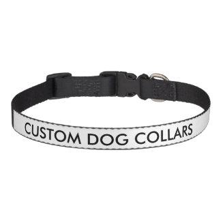 Kundenspezifische personalisierte hundehalsbänder