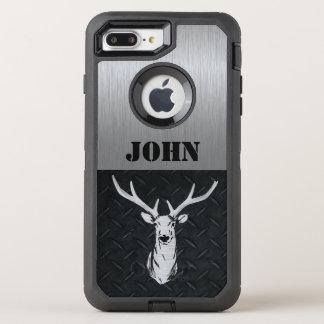 Kundenspezifische Rotwild, die Otterbox Fall jagen OtterBox Defender iPhone 8 Plus/7 Plus Hülle