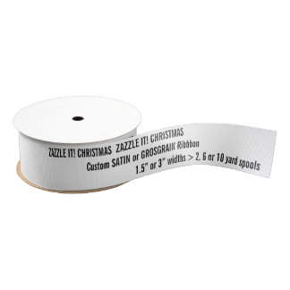 Kundenspezifische Weihnachten-GROSGRAIN Ripsband