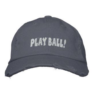 Kundenspezifischer Baseball gestickter Hut Bestickte Baseballmütze