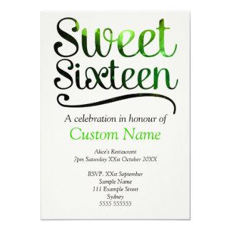 Kundenspezifischer Bonbon 16 12,7 X 17,8 Cm Einladungskarte