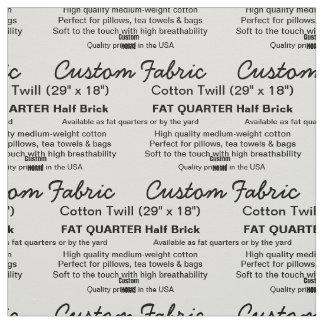 Kundenspezifischer Druck-Baumwolltwill FAT-VIERTEL Stoff