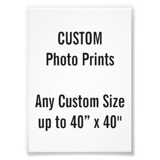Kundenspezifischer Druck-BRITISCHE Rahmen-Größe Photo Drucke