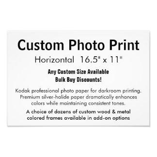 """Kundenspezifischer Foto-Druck - horizontales 16,5"""""""
