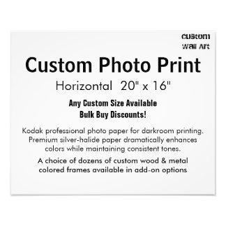 """Kundenspezifischer Foto-Druck - horizontales 20"""" x Photo Drucke"""