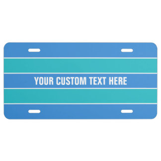 Kundenspezifischer Lizenz-Teller des US Nummernschild
