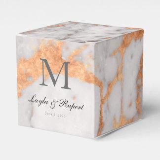 Kundenspezifischer Marmor-u. Kupfer-Gastgeschenk Geschenkschachtel